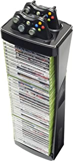 LevelUp Blade Controller and Game Storage Tower for Xbox 360, Black