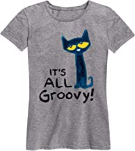Pete the Cat It's All Groovy - Ladies Short Sleeve Classic Fit Tee