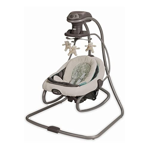 Best ingenious and flexible back baby swing by Graco.