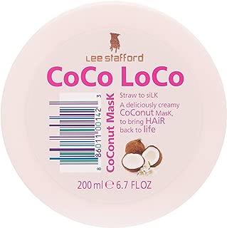 Máscara de Tratamento Coco Loco Coconut Mask 250 ml, Lee Stafford
