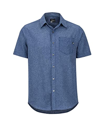 Marmot Aerobora Short Sleeve Shirt (Arctic Navy) Men