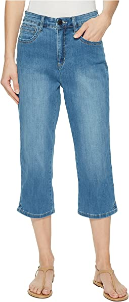 FDJ French Dressing Jeans - Coolmax Denim Peggy Capris in Chambray