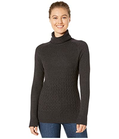 Smartwool Dacono Ski Sweater (Charcoal Heather) Women