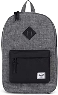 Herschel Polyester Heritage Mid-Volume Unisex Fashion Backpack, Grey