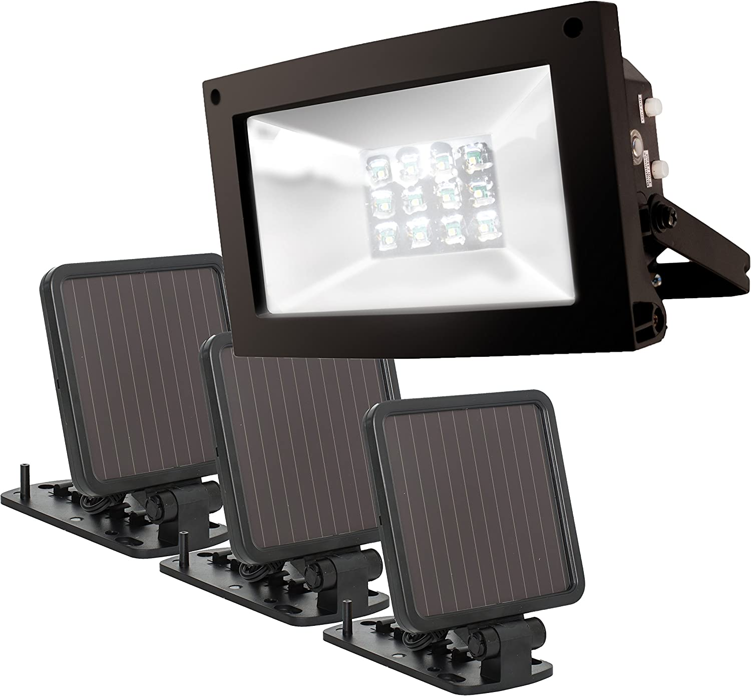 Maxsa 40331 Ultra-Bright Purchase 12 Hour lig to Solar-Powered Floodlight online shopping