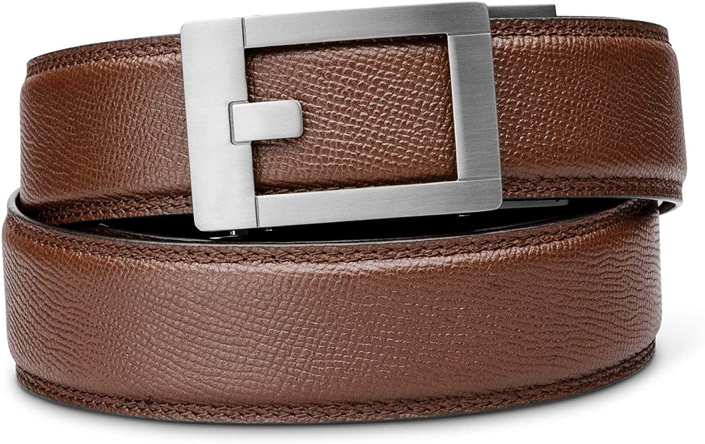 "KORE Titanium Track Belts ""Trophy"" Cheap sale Belt Pebble-Grain All items free shipping Buckle"