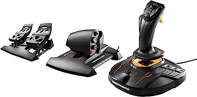 Thrustmaster T1.6000M FCS Flight Pack - Joystick, Throttle; Pedalen - USB/PC