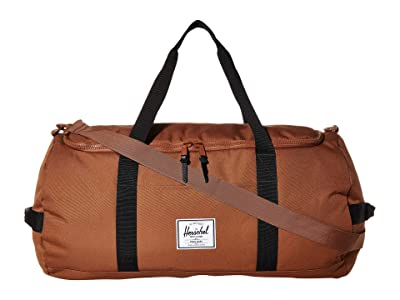 Herschel Supply Co. Sutton (Saddle Brown/Black) Duffel Bags