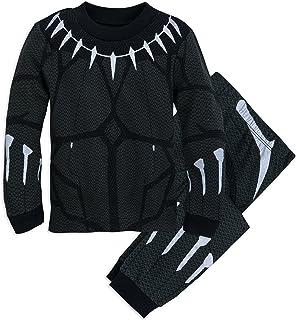 Marvel Black Panther Costume PJ Pals Set for Boys Multi