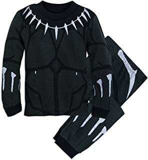 Black Panther Costume PJ Pals Set for Boys Multi