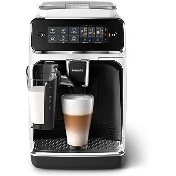 Philips EP3243/50 Machine à Café Automatique Expresso Séries 3200 LatteGo Blanc/laqué noir