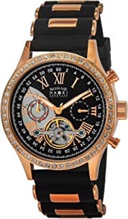 [SONNE]ゾンネ 腕時計 HAORI ブラック文字盤 自動巻 H016PGZ-BK メンズ