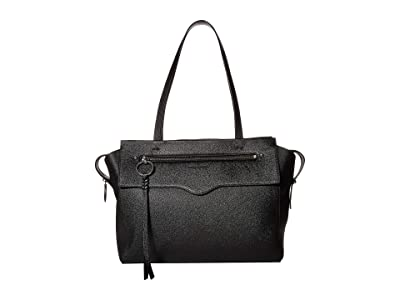 Rebecca Minkoff Gabby Tote (Black) Handbags
