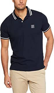 Tommy Hilifiger Men's Colourblock Regular Fit Rugby Polo