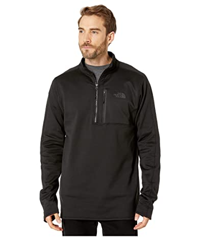 The North Face Canyonlands 1/2 Zip Tall (TNF Black) Men
