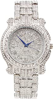 Bling-ed Out Ultimate Silver Hip Hop Royalty Watch - L0504 Silver