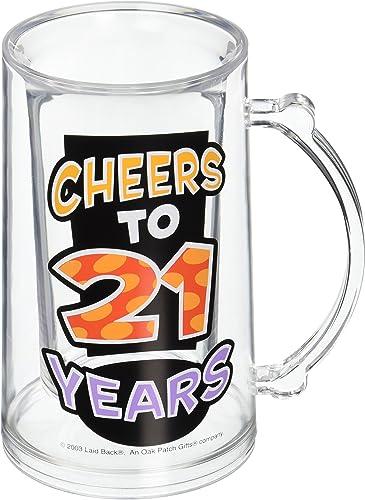 increíbles descuentos Laid Back Back Back Cheers to 21 Years Acrylic Pichel  diseñador en linea
