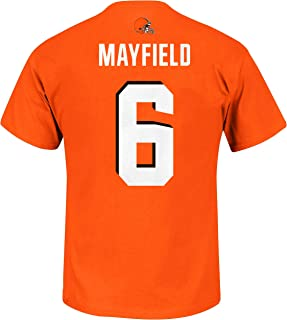 NFL Youth Team Color Primary Logo Player Name and Number Jersey T-Shirt