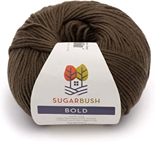 Sugar Bush Yarn Bold Knitting Worsted Weight, Chestnut Tree