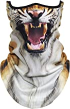 AXBXCX 3D Animal Neck Gaiter Warmer Windproof Face Mask Scarf for Ski Halloween Costume