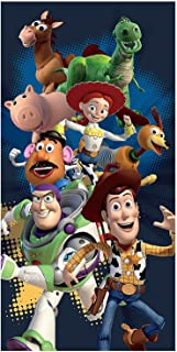 Disney Toy Story The Great Escape Cotton Beach Bath Towel 70 x 140cm by Disney