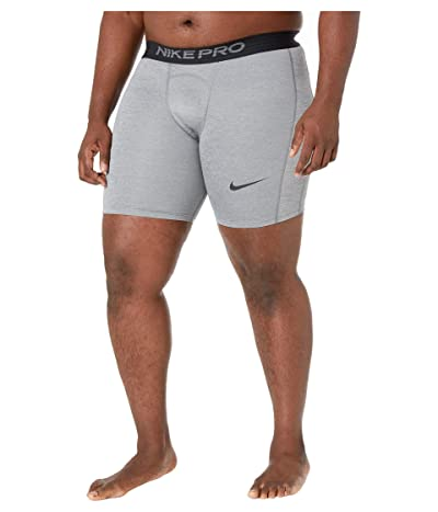 Nike Big Tall Pro Shorts (Smoke Grey/Light Smoke Grey/Black) Men