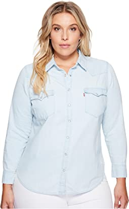 Levi's® Plus - Western Long Sleeve Woven