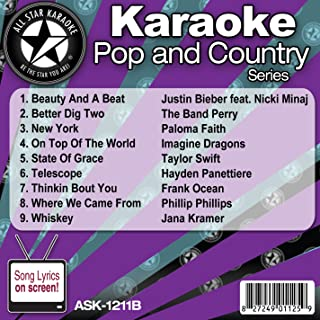 All Star Pop and Country Series ASK-1211B