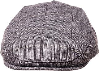 Born to Love Flat Scally Cap - Boy's Tweed Page Boy Newsboy Baby Kids Driver Cap Hat (XXS, 46CM) Mike Set