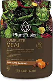 PlantFusion Complete Meal Plant Based Pea Protein Powder   Meal Replacement Shake   Dietary Supplement   Nutritional Drink...