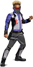 Overwatch Classic Soldier 76 Muscle Costume for Kids