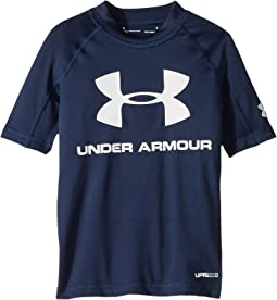 Under Armour Kids UA Comp Short Sleeve Rashguard (Big Kids)