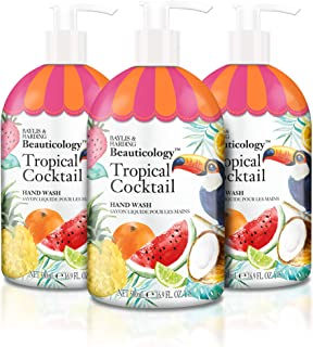 Baylis & Harding Beauticology Tropical Cocktail 16.9 Ounces Hand Wash, Pack Of 3