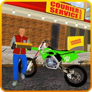 City Delivery boy Simulator: Delivery Bike Stunts