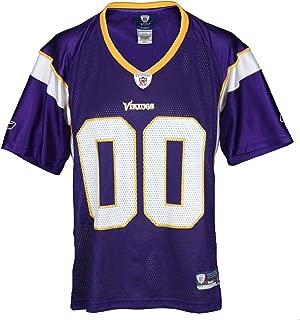 Minnesota Vikings NFL Womens Team Replica Jersey, Purple