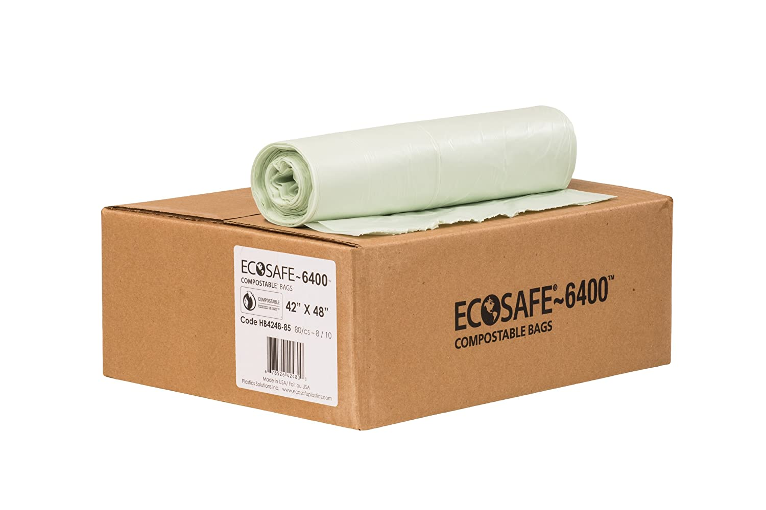 Louisville-Jefferson County Mall EcoSafe-6400 HB4248-85 Compostable 5 Bag Certified Ranking TOP14
