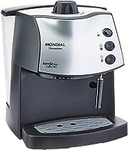 Maquina de Cafe Espresso Coffee Cream, 127V, Mondial C-08, Preto, Mondial, Maquina de Cafe