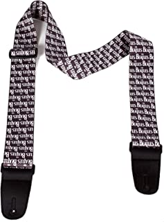 "Perri's Leathers | Beatles Guitar Strap - Polyester | 2'' Wide, Adjustable 39"" - 58"" Long (Bass, Electric and Acoustic Gui..."