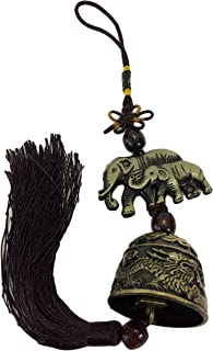 Elephant Bell Mystic Knot Wind Chime Wealth Luck