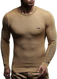Men's Sweater Knitted Pullover Hoodie Basic Crew Neck Sweatshirt Longsleeve Long Sleeve Slim Fit LN1545