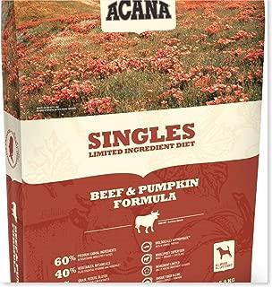 ACANA Beef & Pumpkin Dry Dog Food 25 Lb. Bag. (with Fresh Angus Beef and Pumpkin) Grain Free Dog Food