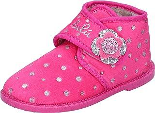 LULU' Pantofole Bambina Tessuto Rosa