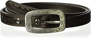 ARIAT Women's Scroll Thin Belt