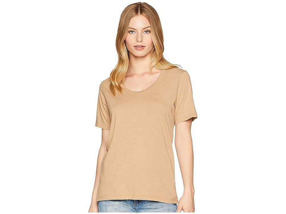Richer Poorer Scoop V Tee (Tan) Women's T Shirt