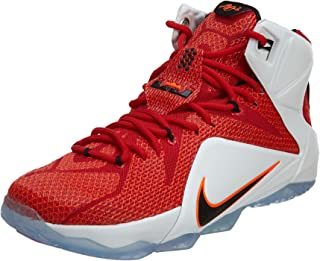 Nike Lebron XII 12 Heart of a Lion Men's Basketball Shoes 684593-601 (10) Red