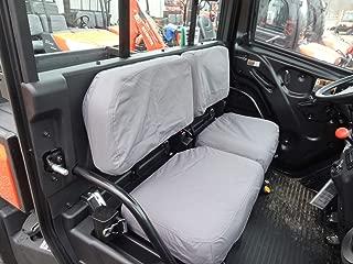 Durafit Seat Covers Kubota RTV X900, RTV X1100, RTV X1120D and 1140 Fronts New Models Gray Endura Waterproof Seat Covers