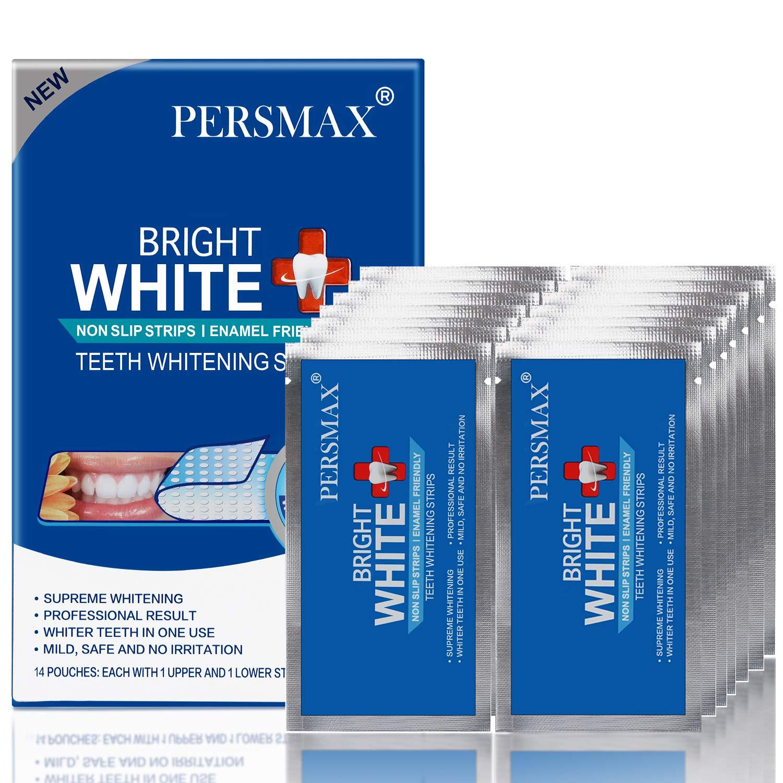 PERSMAX Teeth Tulsa Mall Whitening Strips Dental Profess Max 56% OFF Non-Slip Whitener