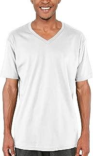 Pro Club Men's Lightweight Ringspun Cotton Short Sleeve V-Neck T-Shirt