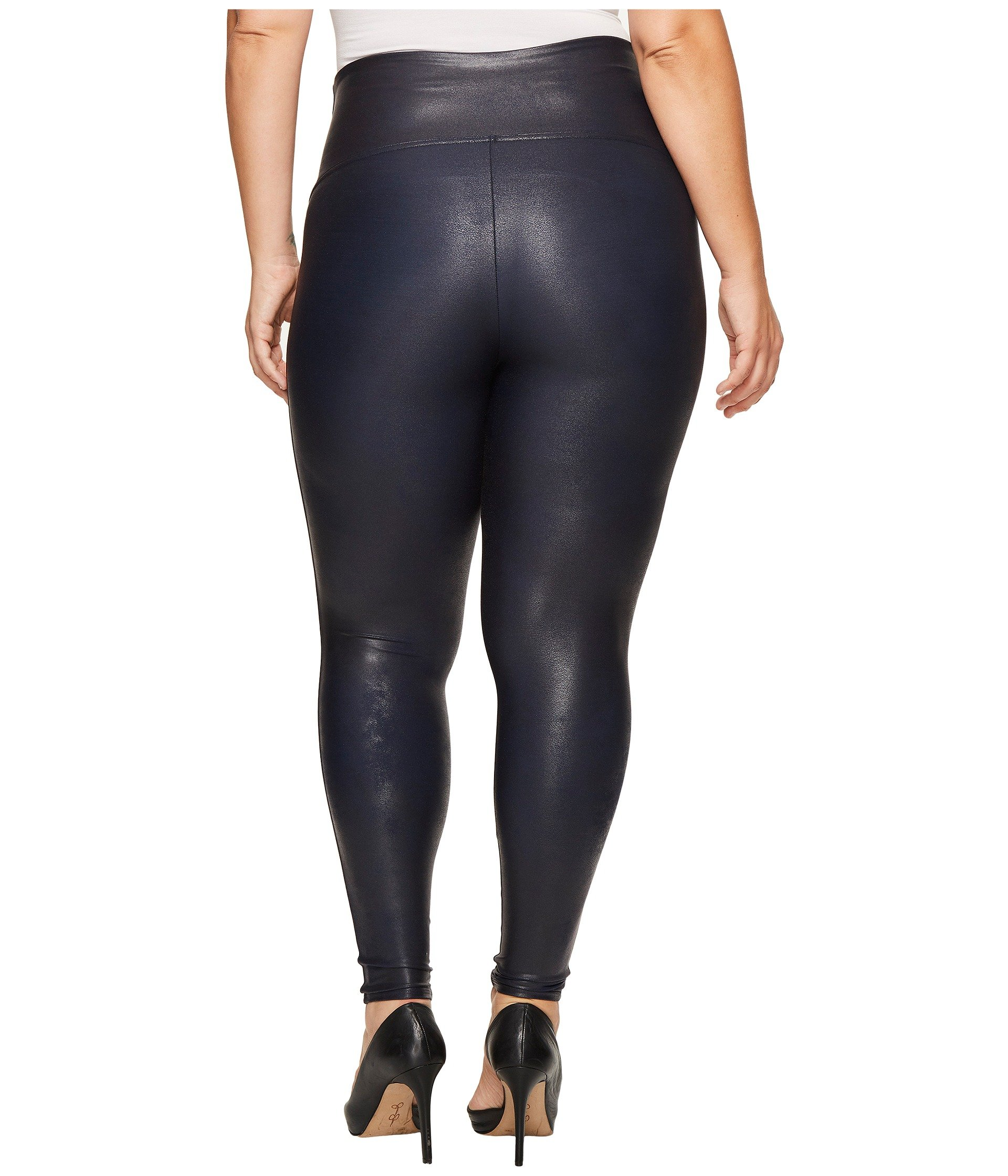 Spanx plus size faux feather leggings at for Plus size spanx for wedding dress