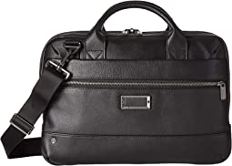 @Work Leather Slim Brief